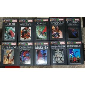 Lote 10 Graphic Novels Marvel Conforme Fotos