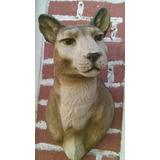 Cabeza De Puma Decorativa
