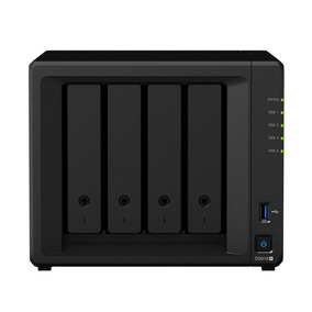 Nas - Sata Ethernet - Synology Diskstation 4 Baias Ds918+