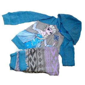 Juego De Pants Y Sudadera Niña Frozen Elsa Talla 4 Original