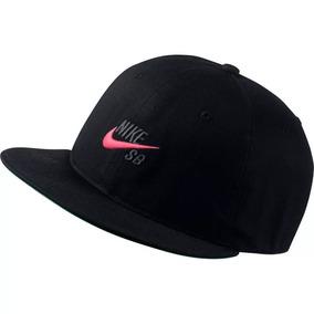 Gorra Nike Sb Pro Vintage Snapback Hombre Hat Negra Original 4650232a75d