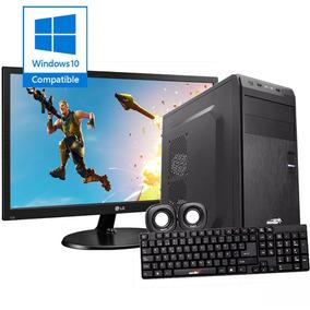 Computadora Pc Completa Amd Dual Core Monitor Led 19 Kit