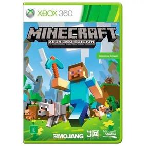 Minecraft Original Lacrado Em Português Xbox 360 Física