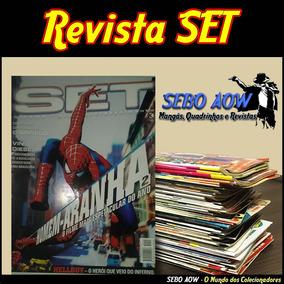 Lote Com 3 Revistas - Set - Cinema, Tv, Series