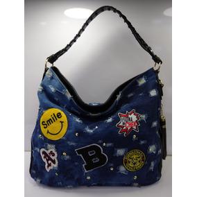 11fe075ba Bolsa Marca Borboleta Azul - Bolsas Femininas Azul escuro no Mercado ...