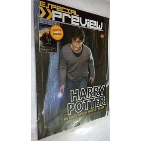Revista - Especial Preview-poster-harry Potter-reliquias 1