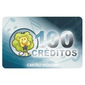 Cartão Karaokê Videokê 100 Créditos - Liberação Online