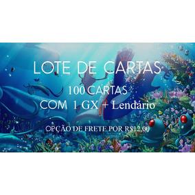 Lote De Cartas Pokemon - 100 Cartas + Gx