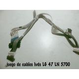 Juego De Cables Lvds Lg 47 Ln 5700