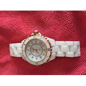 506b1472feb Relógio Chanel J12 Quartz Banho De Ouro E Zircônia Cerâmica