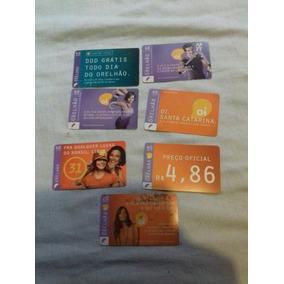 Lote Cartões Telefônicos Da Oi
