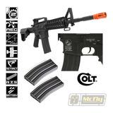 Rifle Airsoft Aeg Colt M4 A1 Ris Cqb Cybergun 6mm