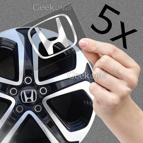 5x Emblema Adesivo Calotinha Tampa Roda Honda Hrv Crv Hr-v