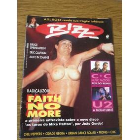 Revista Bizz Faith No More Ed. 82 Maio 1992