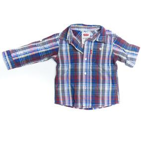 Camisa Cuadros Niño 12 Meses Levis Ropa Americana Importada