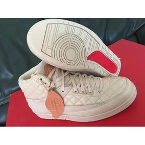 Tenis Air Jordan Retro 2 Just Don Originales Con Gorra Piel 74bb7bef863