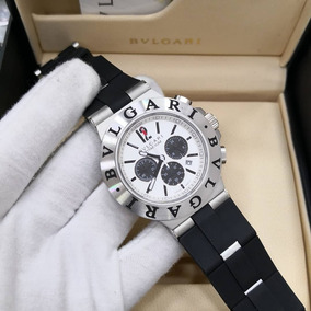 702d84a9a18 Relógio Bvlgari Titanium Grey black  handswatchs