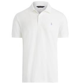 Playera Polo Golf Blanca Ralph Lauren