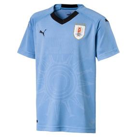 Camiseta Uruguay Niño Oficial 2018 Puma - Global Sports