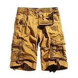Wenven Hombres Pantalones Cortos De Carga Casual Militar Ext f92489d8bc2