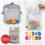 Organizador De Juguetes Para Baño Jojo-kids ~ Conjunto De