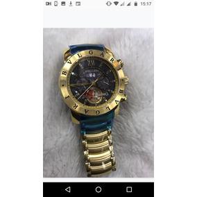 0428efb537d Bvlgari Iron Man Bateria - Relógios De Pulso no Mercado Livre Brasil