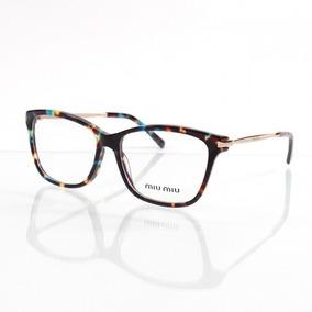 Oculos Miu Miu Tartaruga E - Óculos no Mercado Livre Brasil c83d22f683