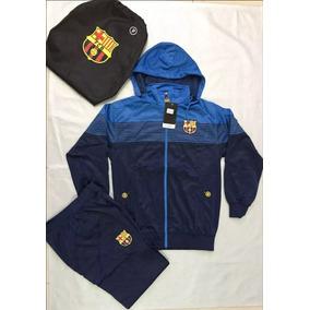 Agasalho De Time Barcelona Masculino Conjunto Blusa 2019 - R  185 0613b8d62e6a8