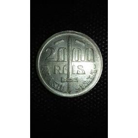 Ref 37 Moeda De Prata De 2000 Réis 1935 Caxias Soberba