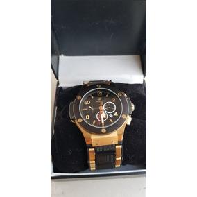 43a306e9efa Relogio Masculino Dourado - Relógio Hublot Masculino no Mercado ...