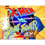 Playstation 1 X-men Vs. Street Fighter - Ex Edition -android