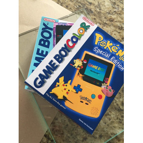 Caixa Game Boy Color (1 Unidades) + Envio Cr