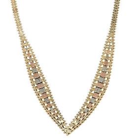 61802a81fb20 Gargantillas De Oro Usados - Collares y Cadenas Oro Sin Piedras ...
