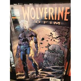 Quadrinhos Wolverine O Fim X Men Marvel Comics Hq