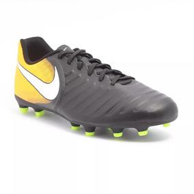 Chuteira Campo Nike Tiempo Rio 4 Fg Masculina - Chuteiras Nike de ... 0bebeac3a6536