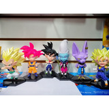 Dragon Ball Z Cabezones Pack X 6