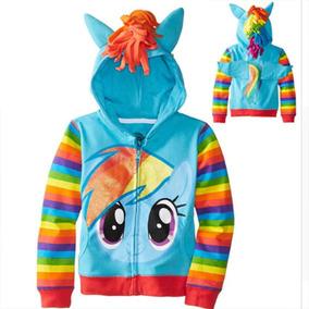 Ropa Niña Sudadera My Little Pony Unicornio Rainbowdash