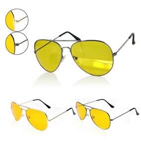 ea60d4cf4865b Óculos Amarelo Para Noite Visão Noturno Drive Night Dirigir. R  79