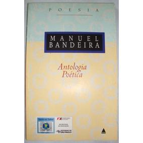Livro Antologia Poética Manuel Bandeira