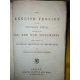 Biblia English Versión 1875 Polyglot Bible London