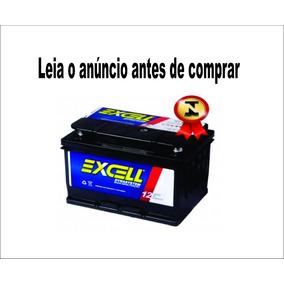 Bateria Automotiva Excell Cx60 50ah 12v Com Visor Iso 9001.