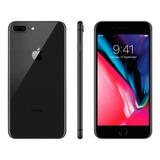 iPhone 8 64gb Preto ( De Vitrine)película Brinde