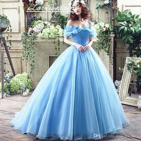 Hermoso Vestido De Cenicienta Xv Años Ceremonia Vintage