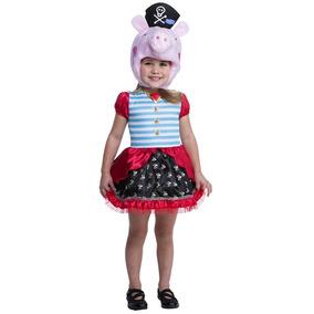 Disfraz Peppa Pig Marinera Halloween Nuevo Vestido Niña Bebe 5ce3f1ce690