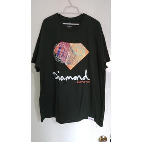 Diamond Supply Co Playera Trotter Passport