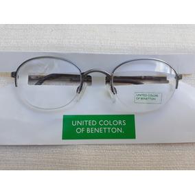 Oculos Armações Redondas Benneton Armacoes - Óculos no Mercado Livre ... 6645ec83dd