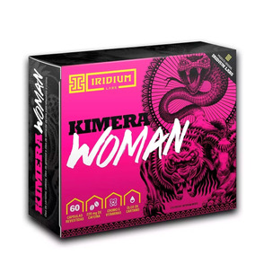 Kimera Woman - Iridium Labs - 60 Tabs - Seca Barriga