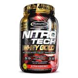 Nitro Tech 100% Whey Gold (999g) Muscletech