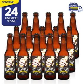 Cerveza Importada Elysian Immortal Ipa, 24 Botellas 355ml C