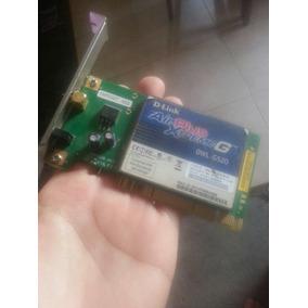 Tarjeta Pci Wifi D-link Air Plus Xtreme G G520